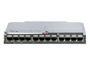 Brocade 16Gb/16 SAN Switch for HP BladeSystem c-Class - Conmutador - Gestionado