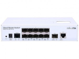 Switch MikroTik Cloud Router Switch CRS212-1G-10S-1S+IN - Conmutador - L3