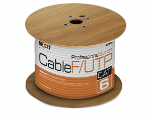 Cable UTP Cat6 Marca Nexxt Cable S/FTP Cat6A - Azul