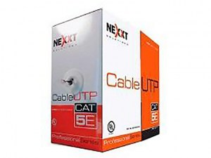 Cable UTP Cat5e Marca Nexxt Solutions Infrastructure - Bulk cable - UTP